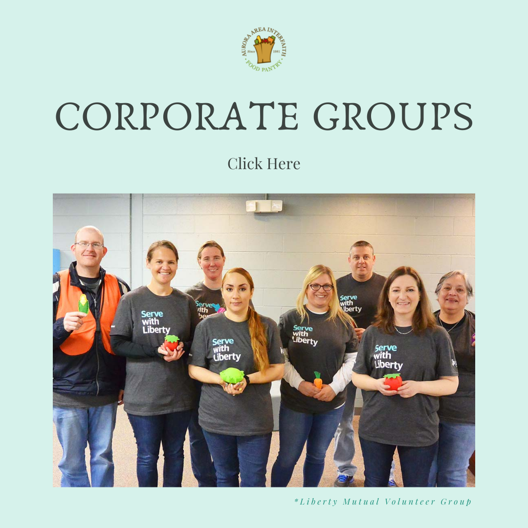 Corporate volunteer button