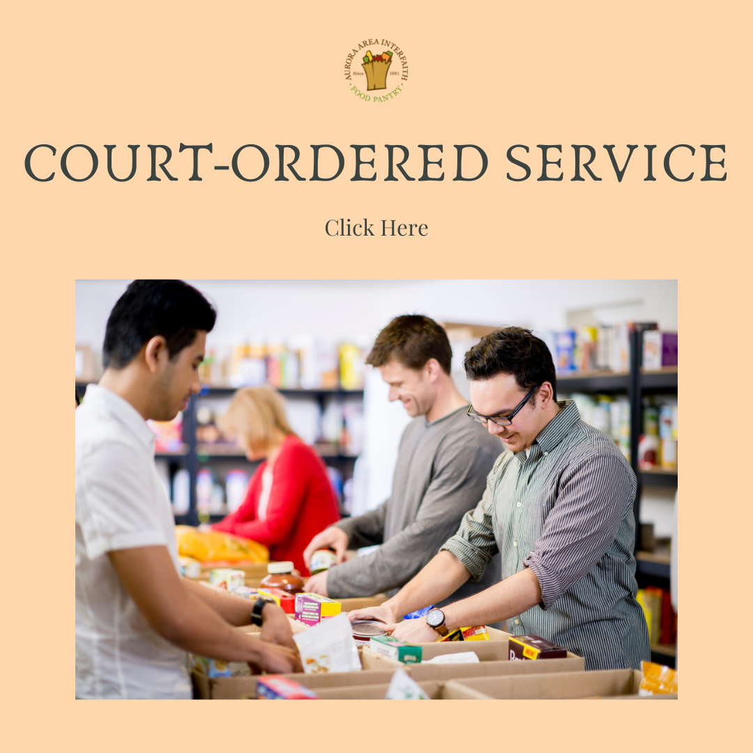 Court ordered service button