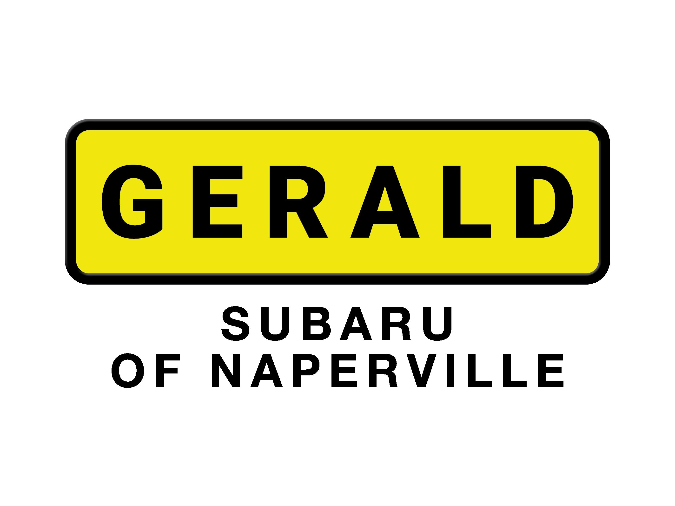 gerald subaru logo